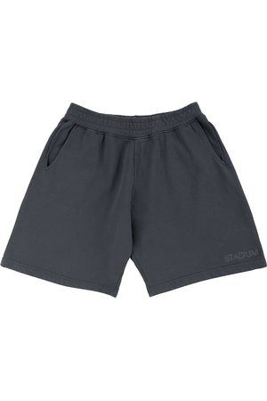 Stadium Goods Logo-embroidered eco track shorts - Grey