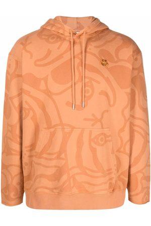 Kenzo K-Tiger print hoodie