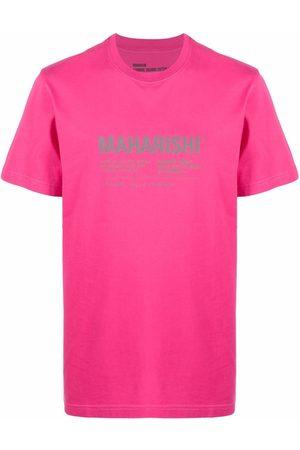Maharishi Logo print T-shirt