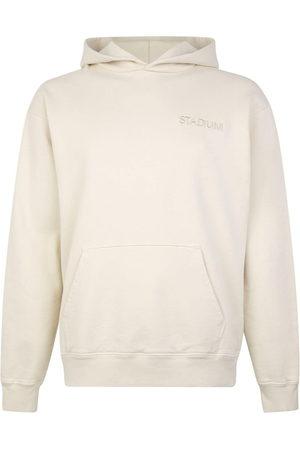 Stadium Goods Eco logo-embroidered hoodie - Neutrals