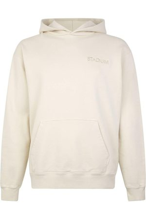 Stadium Goods Embroidered-logo eco sweatshirt - Neutrals