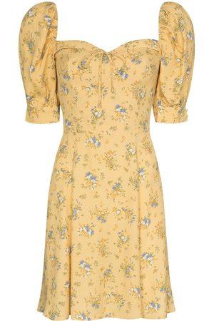 Reformation Women Printed Dresses - Lillet floral-print minidress