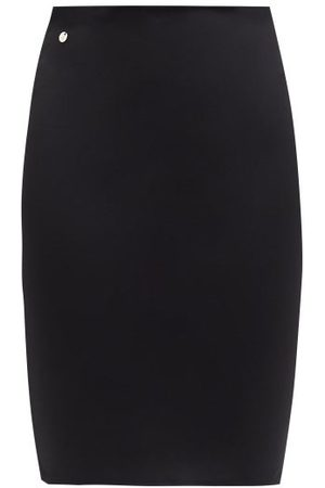 The Attico Women Mini Skirts - Jersey Mini Skirt - Womens