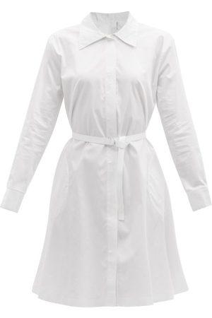 Norma Kamali Boyfriend Cotton-poplin Shirt Dress - Womens