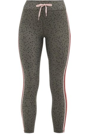 The Upside Teeny Leopard-print Stretch-jersey Leggings - Womens - Leopard