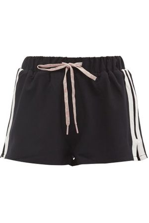 The Upside Efrem Striped Shorts - Womens - Navy