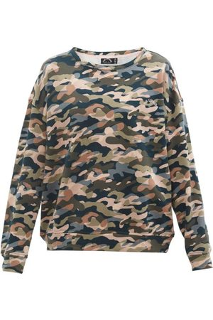 The Upside Alena Himalaya Camouflage-print Cotton Sweatshirt - Womens - Camouflage