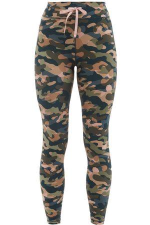 The Upside Himalaya Camouflage-print Leggings - Womens - Camouflage
