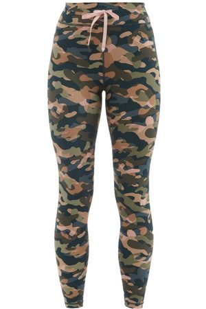 The Upside Women Leggings - Himalaya Camouflage-print Leggings - Womens - Camouflage