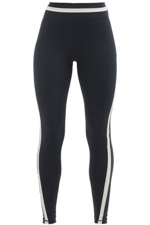 The Upside Mallorca High-rise Stretch-jersey Leggings - Womens - Navy