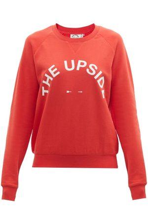 The Upside Bondi Logo-print Cotton-jersey Sweatshirt - Womens