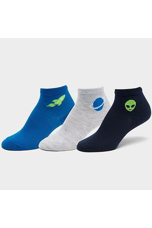 Sof Sole Socks - Kids' Sonneti Printed Quarter Socks (3-Pack) Size Small Knit/Fiber