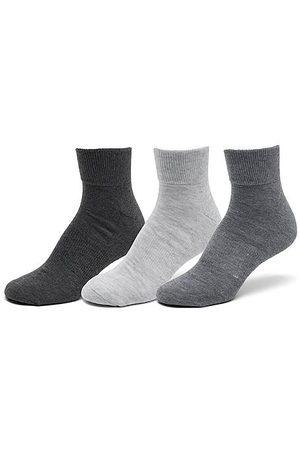 Sof Sole Men's Sonneti Quarter Socks (6-Pack) in Grey/Grey