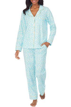 BedHead BedHead Printed Notched Collar Pajama Set