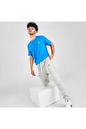 Nike Men's Sportswear Airmoji Jogger Pants in Grey/Dark Grey Heather