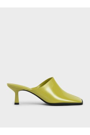 CHARLES & KEITH Patent Covered Mules