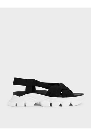 CHARLES & KEITH Fabric Sports Sandals
