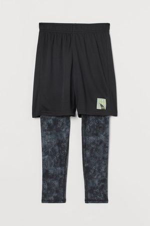 H&M Kids Sports Shorts - Sports Leggings with Shorts