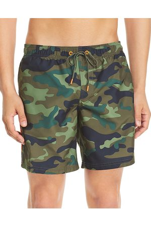 Sundek Camouflage Print Swim Shorts
