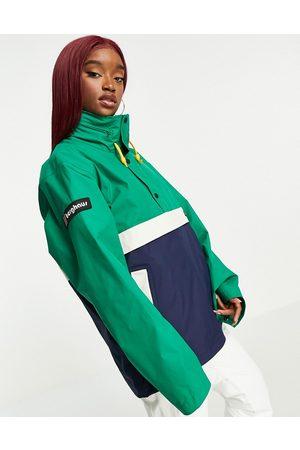 Berghaus Smock 86 jacket in navy/green