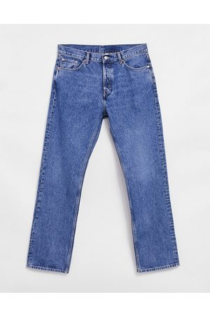 Weekday Space jeans in seven blue-Blues