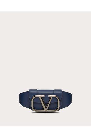 VALENTINO GARAVANI Men Bags - Supervee Leather Belt Bag Man Bright 100% Pelle Bovina - Bos Taurus OneSize