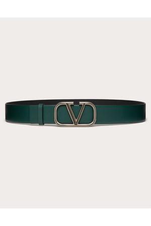 VALENTINO GARAVANI Vlogo Signature Calfskin Belt Man English 100% Pelle Bovina - Bos Taurus 100