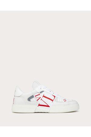 VALENTINO GARAVANI Men Sneakers - Low-top Calfskin Vl7n Sneaker With Bands Man /pure 100% Pelle Di Vitello - Bos Taurus 39.5