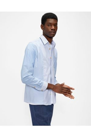 Ted Baker Ls Mix Stripe Shirt