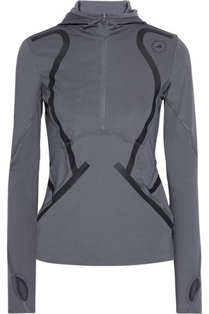 adidas Woman Printed Stretch Hooded Top Size L