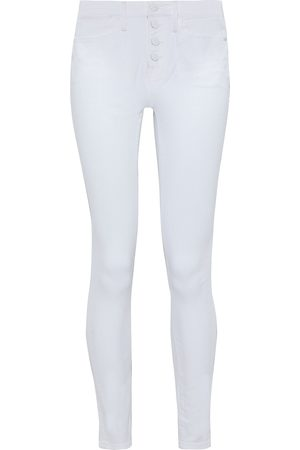 Frame Woman Le High Skinny High-rise Skinny Jeans Size 25