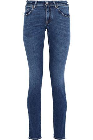 Acne Studios Woman Climb Mid-rise Skinny Jeans Mid Denim Size 24W-34L