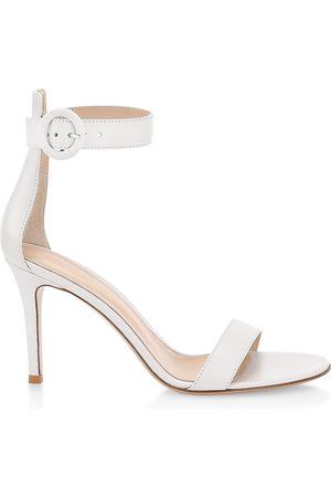 Gianvito Rossi Women's Portofino Leather Sandals - - Size 8.5