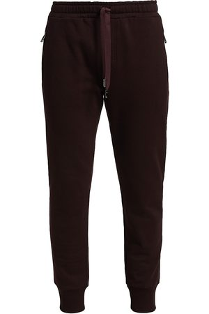 Dolce & Gabbana Men's Wax Seal Logo Sweatpants - Prugna - Size 38