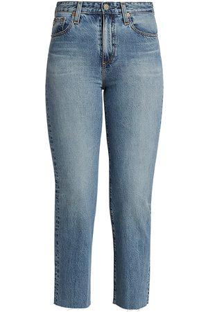 AG Jeans Women's Alexxis Cropped Jeans - 18 Years Creek Side - Size 24