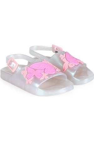 SOPHIA WEBSTER Sandals - Baby's & Little Girl's Butterfly Jelly Slides - Pearl - Size 9.5 (Toddler) Sandals