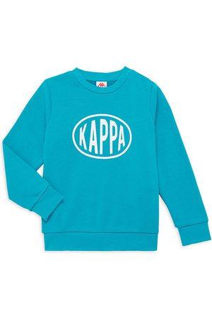 Kappa Boys Sweatshirts - Little Boy's and Boy's Authentic Pop Epaz Sweatshirt - Sea - Size 4