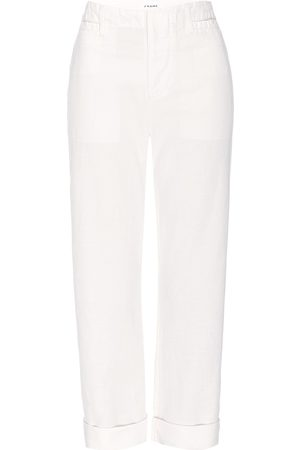 Frame Women's Le Tomboy Cuffed Trousers - Vintage - Size 29