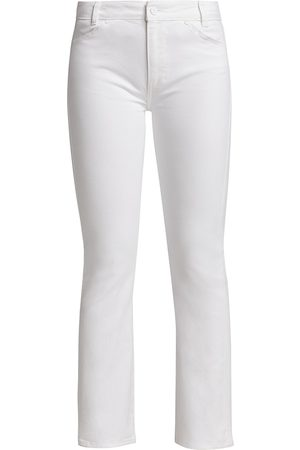 Paige Women's Claudine Ankle Flare Cropped Jeans - Crisp - Size 28