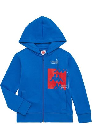 Kappa Boys Hoodies - Little Boy's and Boy's Authentic Zip-Front Hoodie - Royal - Size 6