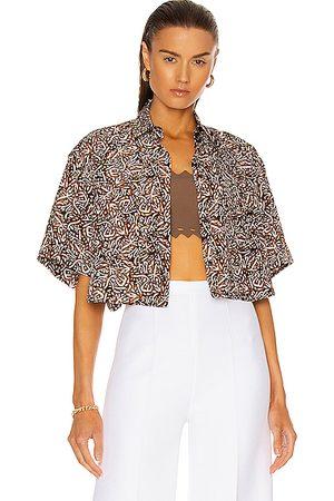 Alaïa Women Short sleeves - Massai Short Sleeve Top in Brown