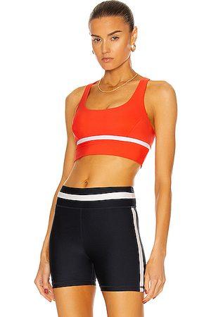 The Upside Women Sports Bras - Mallorca Sandy Bra in Red