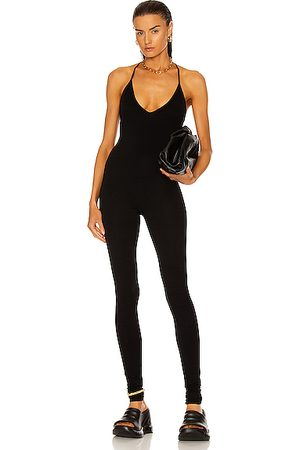 RICK OWENS LILIES Women Jumpsuits - Sleeveless Catsuit in