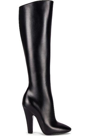 Saint Laurent Women Thigh High Boots - 68 Knee High Boots in