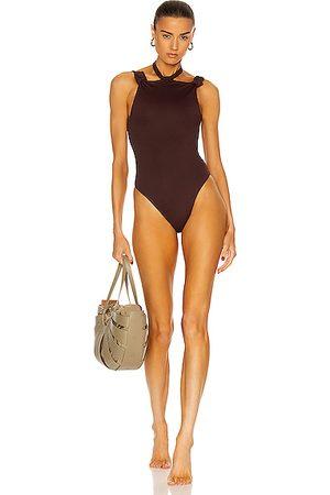 The Attico Women Swimsuits - Choker Swimsuit in