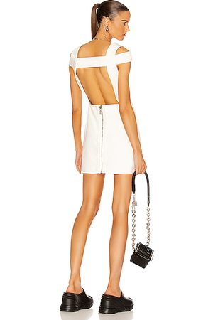 Givenchy Open Back Mini Dress in