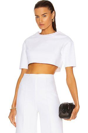 Alaïa Women Short Sleeve - Viscose Short Sleeve Top in