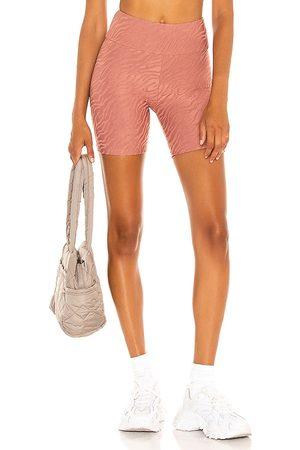 TWENTY MONTREAL Bali Tiger 3D Activewear Biker Short in Pink.