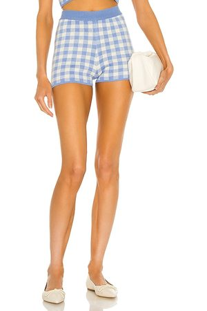 MAJORELLE Addy Knit Shorts in Baby .