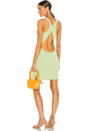 Michael Costello X REVOLVE Alyssa Mini Dress in Mint.